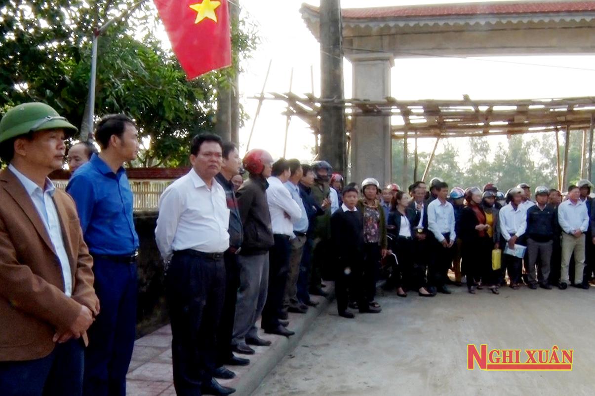 Phong trào xây dựng Khu dân cư NTM kiểu mẫu, vườn mẫu Nghi Xuân ngày càng lan tỏa sâu rộng