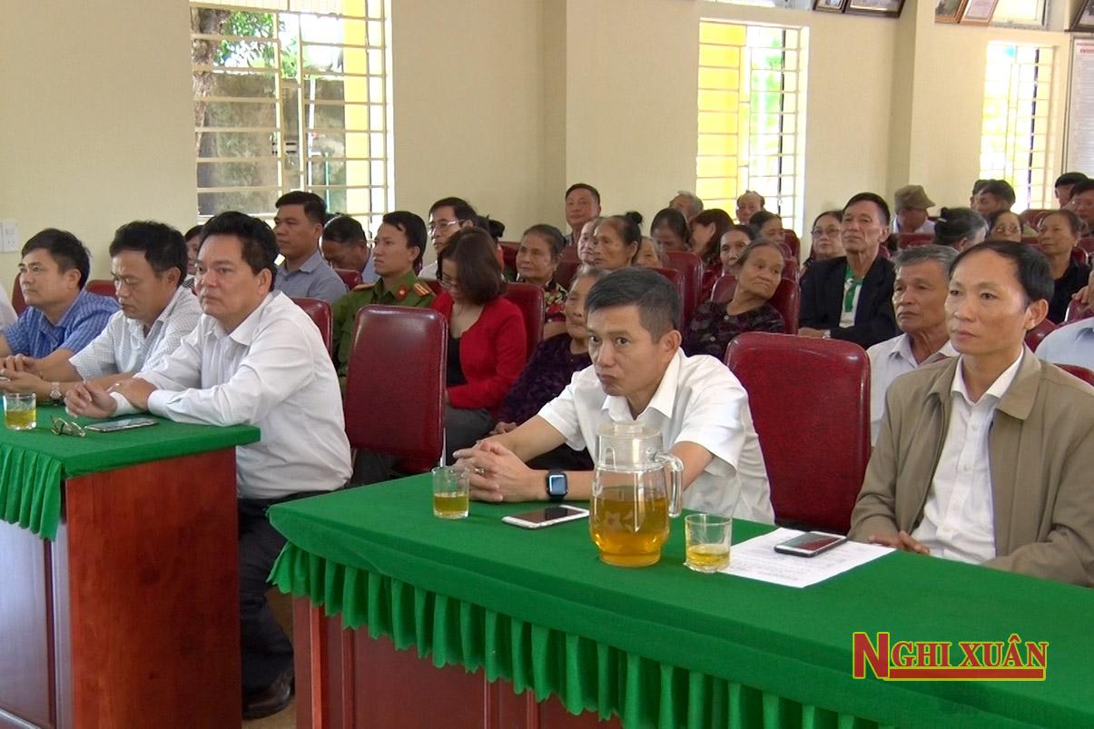 Lãnh đạo huyện chung vui ngày hội Đại đoàn kết toàn dân ở các khu dân cư