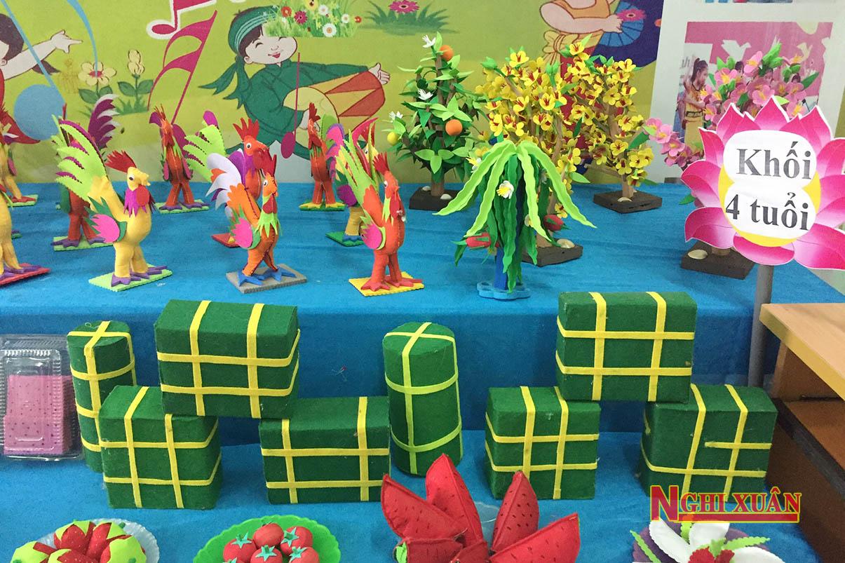 Độc đáo những đồ chơi được chế tạo từ phế liệu của giáo viên Mầm non Xuân Hải