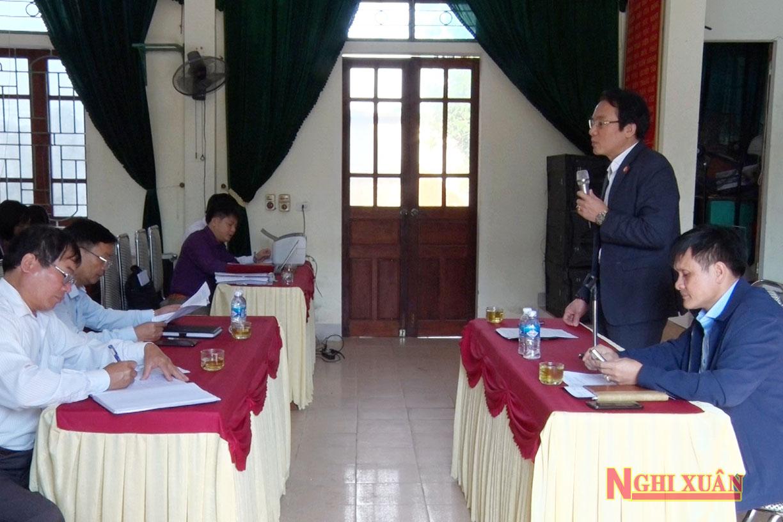 Cùng tham gia buổi đối thoại có các thành viên Hội đồng bồi thường GPMB dự án, lãnh đạo Đảng ủy, chính quyền địa phương xã Xuân Thành.