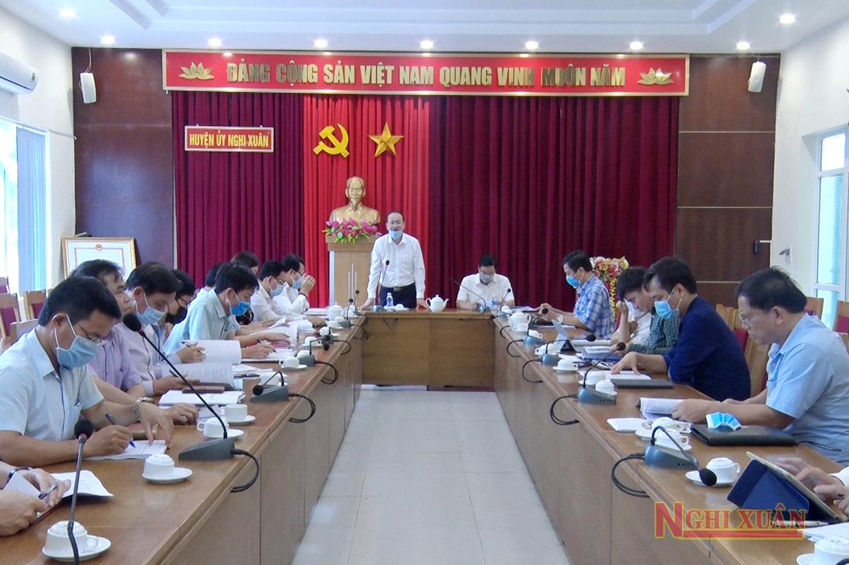 Sở Văn hoá Thể thao và Du lịch góp ý cùng huyện Nghi Xuân hoàn thiện đề án xây dựng huyện nông thôn mới kiểu mẫu