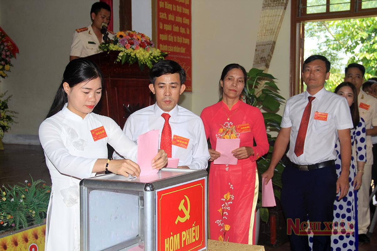 Đảng bộ xã Xuân Liên đại hội nhiệm kỳ 2020-2025