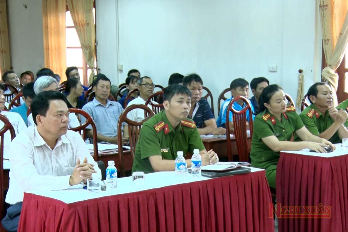 Trang bị kiến thức PCCC, cứu nạn cứu hộ cho hộ sản xuất kinh doanh ở Nghi Xuân