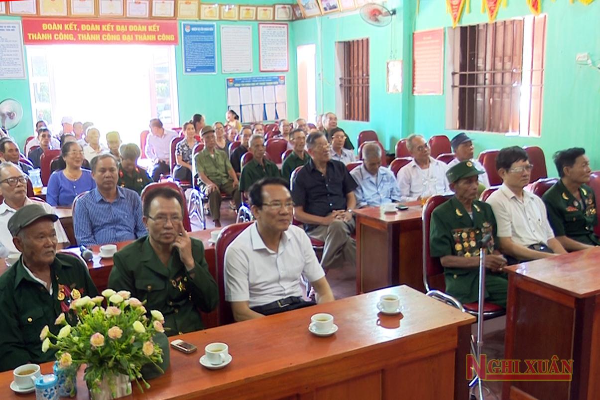 Ban liên lạc thương binh, bệnh binh nặng huyện Nghi Xuân hiện có 43 hội viên.