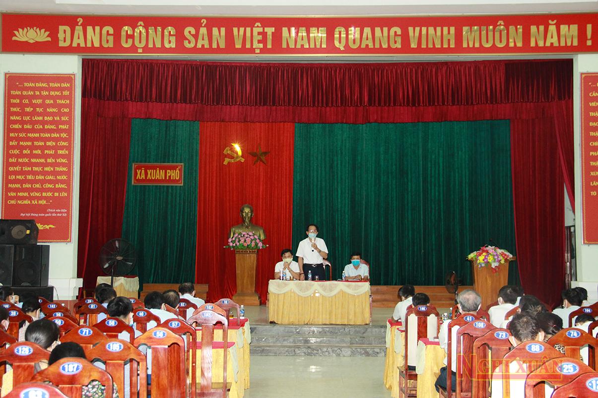 Tập trung tháo gỡ khó khăn, phấn đấu đưa Xuân Phổ là xã nông thôn mới nâng cao trong năm 2020