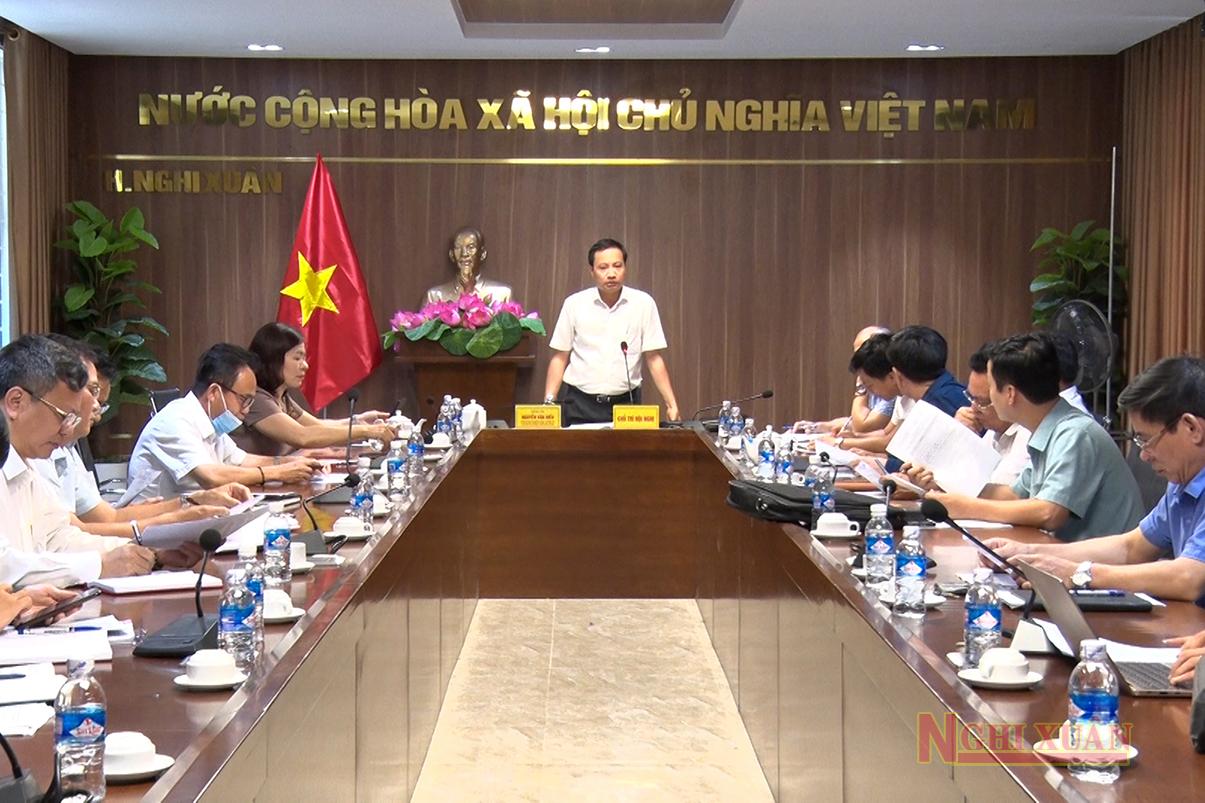 Thường trực HĐND huyện Nghi Xuân tổ chức phiên họp thường kỳ tháng 8