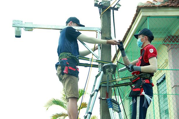 Xã Xuân Phổ lắp đặt 15 cụm camera an ninh từ nguồn xã hội hóa