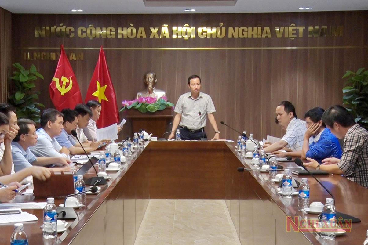 Thường trực HĐND huyện Nghi Xuân khoá XX tổ chức phiên họp thường kỳ tháng 10