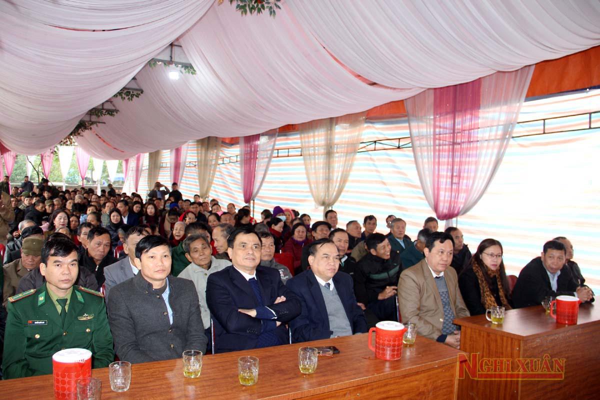 Chính quyền xã Cổ Đạm và Nhân dân thôn Kỳ Tây vừa tổ chức lễ khánh thành trùng tu, tôn tạo di tịch lịch sử văn hóa cấp tỉnh đền bà Mai Hoa công chúa.