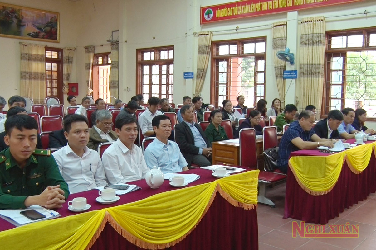 HĐND xã Xuân Liên tổng kết nhiệm kỳ 2016 - 2021