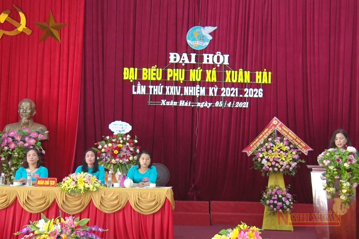 Phụ nữ Xuân Hải có nhiều đóng góp to lớn trong sự phát triển của địa phương