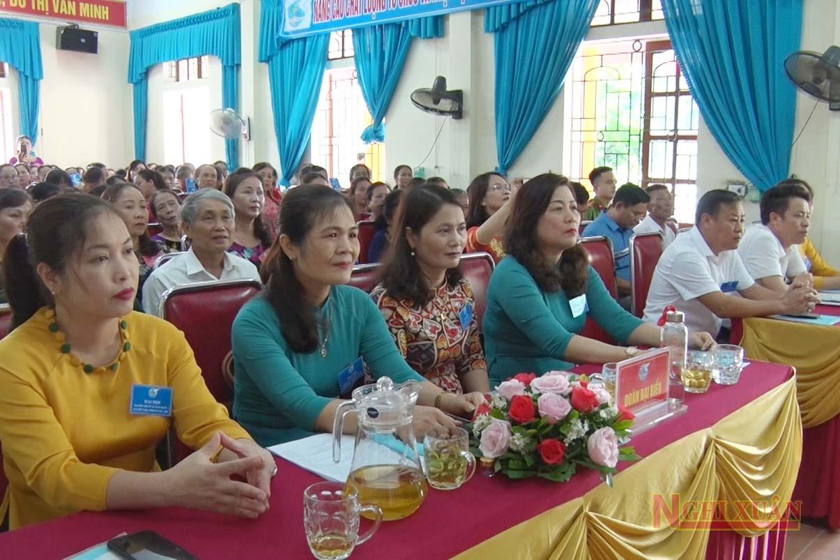 Hội LHPN Xuân Giang đại hội nhiệm kỳ 2021-2026
