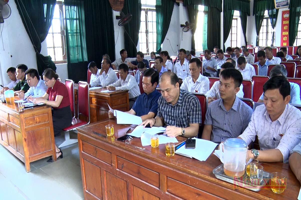 HĐND xã Cổ Đạm tổng kết hoạt động nhiệm kỳ 2016-2021