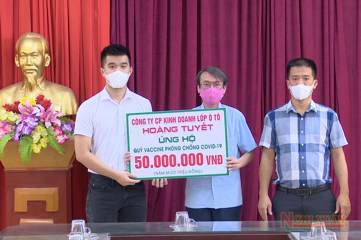 Nhiều doanh nghiệp tiếp tục ủng hộ Quỹ phòng, chống dịch Covid - 19