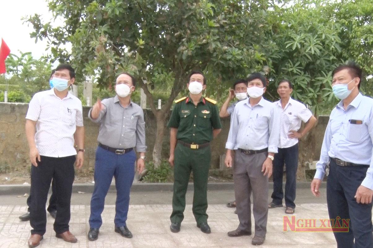 Văn phòng nông thôn mới tỉnh làm việc với các xã Xuân Lam, Xuân Lĩnh, Xuân Hồng