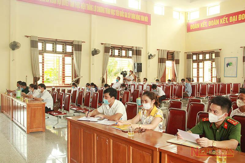 Đảng ủy xã Xuân Hội sơ kết 5 năm thực hiện việc học tập và làm theo tư tưởng, đạo đức, phong cách Hồ Chí Minh
